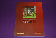 WARHAMMER BATTLE MORDHEIM - Citadel Miniatures - Guide du Collectionneur Empire