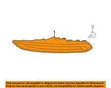 PORSCHE OEM Macan Daytime Running Light Fr-Daytime Run Lamp Right 95B941182A