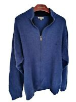 Mens LONDON by BURBERRY full zip lambswool mix jumper/Sweater size 2XL RRP £325.