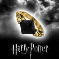 Harry Potter Horcrux Cosplay Sorcerer's black Stone Ring Resurrection Gift #1