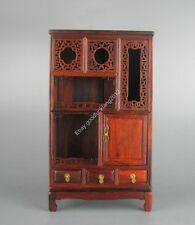 stand display Chinese Red wood rosewood Chinese new 3 drawer miniature furniture