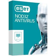 ESET NOD32 AntiVirus 2018 Retail card of 1PC -1Year -Windows & Mac
