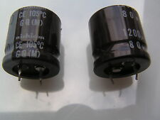 Nichicon Electrolytic Capacitors 80V 1200uf 105'C GQ(M) 2 pieces OL0522