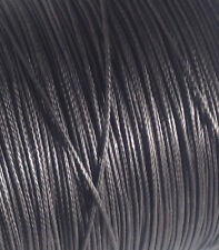 40' of 1.5mm Black Dyneema SK75 Line 320Kg Tensile. Very Light 12 Strand Rope