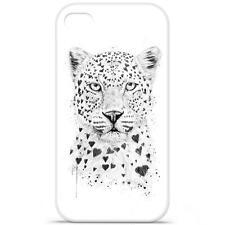 Coque Housse Etui iPhone 4 / 4S à motif Silicone Gel qualité FR - B.S(Leopard)