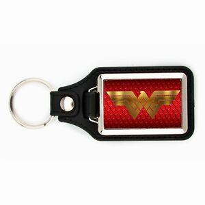 WONDER WOMAN KEYCHAIN KEY CHAIN RING WONDER-WOMAN DC SUPER HERO