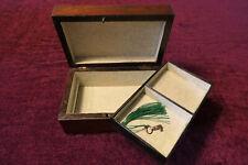 ANTIQUE ROSEWOOD JEWELLERY BOX