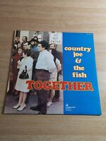COUNTRY JOE and THE FISH LP Together 1968 Vanguard psych First Press - XSV 14051