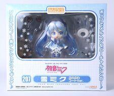 """Nendoroid Hatsune Miku Snow Fluffy Coat """" Figure Authentic GOOD SMILE JP A1820"""