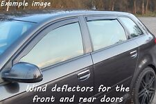 Wind deflectors for Nissan Qashqai 1 J10 Facelift 2010-2013 SUV Offroad 5doors66