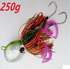 ONE (1) Thunder Jig 250g / 9oz Octopus Jigging Weight Saltwater Fish Lure GREEN