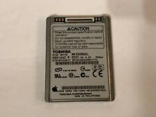 Genuine MK3008GAL 30GB Toshiba Hard Drive HDD For iPod Video 5th Gen TESTED