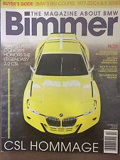 BIMMER MAGAZINE OCTOBER 2015 *CSL HOMMAGE*
