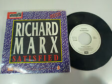 "Richard Marx Satisfied Luz Casal Te deje Marchar Promocional Single Vinilo 7"" VG"
