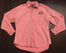 Vtg Seattle Supersonics 90s Team/staff Issue Denim Pink Sonics Shirt Rare🔥 Nba
