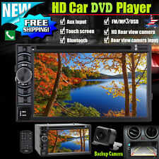 6.2inch Car Stere Autoradio DVD Player Radio Touch Screen and Rearview Camera