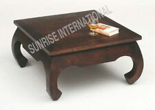 Wooden opium center / coffee table (square)