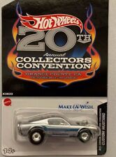 2006 HOT WHEELS CONVENTION CUSTOM MUSTANG REAL RIDERS # 1 OF 3,000 MINT