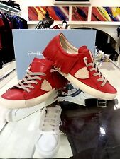 PHILIPPE MODEL SNEAKERS CLLD LEATHER RED  FRINGLY SIZE  37 38 39 SPECIALPRICE!