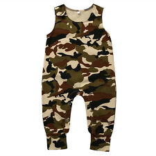 Newborn Baby Boy Girl Floral Romper Bodysuit Jumpsuit Outfit Sunsuit Clothes lot