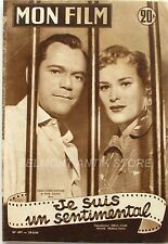 Mon film n°497 - 1956 - Eddie Constantine - Bella Darvi - June Thorburn  -