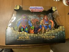 MOTUC Rotar And Twistoid He Man Masters Of The Universe