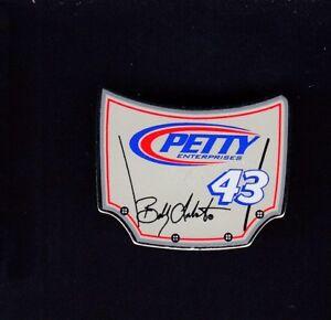 Bobby Labonte #43 Hood Shaped Nascar Collectible 1 inch Pin