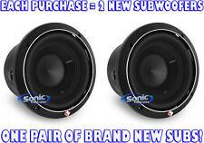 "(2) ROCKFORD FOSGATE 500W 8"" Punch P2 Series Dual 2-Ohm Car Subwoofers   P2D2-8"