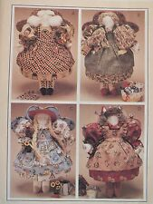 Oop McCalls 8138~Angel Dolls & Clothes Pattern Sewing~Garden~Bird~Cookin g Angels
