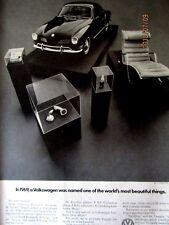 1969 Volkswagen Karmann Ghia-World's Most Beautiful Things Oiginal Print Ad
