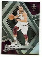 2018-19 PANINI SPECTRA KEVIN LOVE SILVER PRIZM REFRACTOR #25 (CAVALIERS)