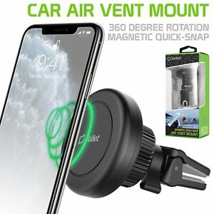 New Air Vent Mount Universal Magnetic Cell Phone Holder - Samsung Galaxy iPhone