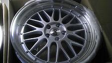 "ESM 004 Alloy Wheels Rims Silver / Gun Metal Rims 19"", BMW, Pontiac, Acura"