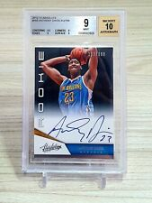 ANTHONY DAVIS 2012/13 BGS 9 AUTO 10 WITH SUB 9.5 ABSOLUTE RC ROOKIE