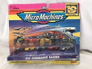 1996 Micro Machines #15 Endurance Racers Porsche, Jaguar, Ferrari, Cobra 5030