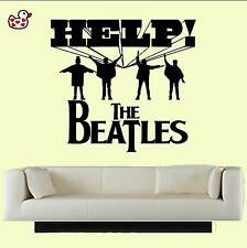 Beatles Help! Vinyl Wall Art John Paul George Ringo Sgt Pepper