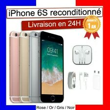 APPLE Iphone 6S Noir Or Rose Argent 16go / 32 / 64 / 128 go Reconditionné Comme