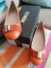💕💕💕MIMCO KINETICA BALLET FLATS SHOES in ORANGE size 39 OR 8 💕💕