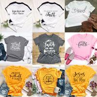 Faith Can Move Mountains T-Shirt Christian T-Shirt Bible Verse Shirt Jesus Tees