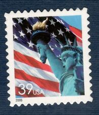 3978 Flag & Liberty Single W/Microprinted From Pane Of 20 (Free shipping offer)