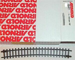 Bent R 4 430mm Track Piece 1640 Arnold 1:160 Ein Piece GB2 Μ