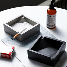 Nordic Cement Ashtray Personality Square Cigar Ashtray for Cigarette Decor Gifts