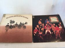 """Blood Sweat Tears 2 lot Vinyl Lps Record Albums """"Child is Father & Self Titled"""""""