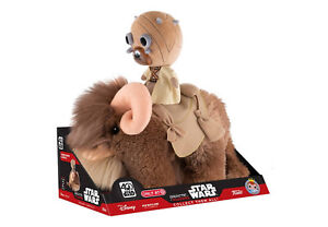 Bantha plush WITH Tusken rider!! Star Wars Ep. IV: A New Hope