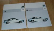 Volvo S80 Brochure Set 2003 - 2.4 140 170 bhp 2.0T 2.5T 2.9 T6 D5 SE Executive
