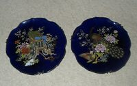 Vintage Souvenir Wall Plates (2) beautifully decorated, 18cm
