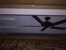 Farmington 52 in. Natural Iron Ceiling Fan