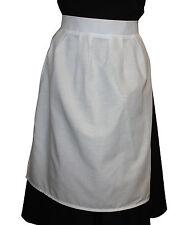 Childrens White Fancy Dress Apron Edwardian Victorian Maid School Trips