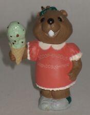 Hallmark Keepsake Ornament Granddaughter 1994 Ice Cream Cone Beaver