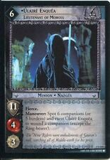 Lord Of The Rings CCG FotR Card 1.U231 Ulaire Enquea Lieutenant Of Morgul